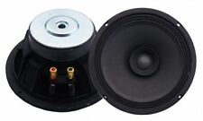 "Woofer 8"" Altoparlante Doppio Cono 20mm 8 Ohm  300W Alta Efficienza full range"