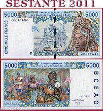 WEST AFRICAN STATES -  SENEGAL -  5000 5.000 FRANCS 1999 -  P 713Ki -  FDS/UNC