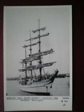 POSTCARD MERSEY TALL SHIP EVENT 1984 - SAGRES - PORTUGAL