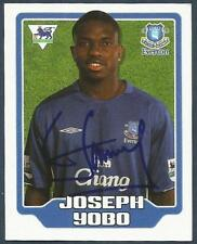 MERLIN F.A. PREMIER LEAGUE 06- #198-EVERTON-JOSEPH YOBO