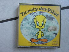 Tweety der Pilot    -Super 8mm Film,17 meter,s/w.