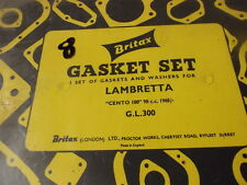 LAMBRETTA  CENTO 100 98CC 1965 ON GASKETS   8
