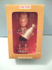 Jean Beliveau Montreal Canadiens BOBBLEHEAD BOBBLE DREAMS promo by Metro Store