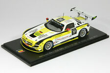 1:43 Mercedes-Benz SLS AMG GT3 - Black Falcon - 24h Spa 2012 - Spark SB 034