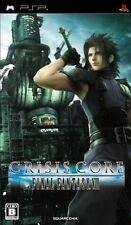 Used PSP Crisis Core Final Fantasy VII SQUARE   SONY PLAYSTATION JAPAN IMPORT