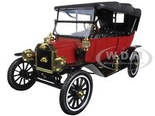 1915 FORD MODEL T SOFT TOP RED 1/18 DIECAST MODEL CAR MOTORCITY CLASSICS 88133