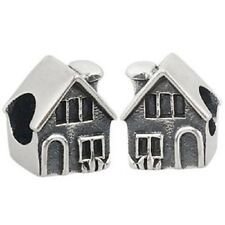 HOUSE HOME Genuine 925 sterling silver charm bead fits european bracelet