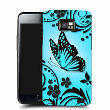 Durable Hard Case Cover for Samsung galaxy S2 I9100 - blue caress