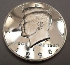 1998 S KENNEDY *90% SILVER PROOF* HALF DOLLAR  **FREE SHIPPING**