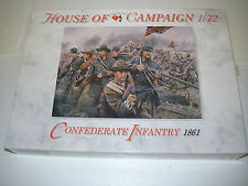 A Call to Arms 54 -  Confederated Infantry 1861         1/72 Plastic Figures Kit
