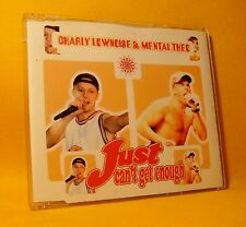 NEW MAXI Single CD Charly Lownoise & Mental Theo Just Can't Get Enough 5TR 1997