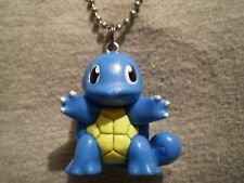Squirtle Turtle Pokemon Figure Charm Necklace Kawaii Anime Collectible Jewelry