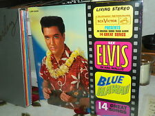 ELVIS PRESLEY LSP-2426 BLUE HAWAII SEALED RED  VINYL WITH FREE PHOTO + PAPERBACK