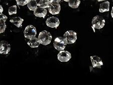 Lot (25g) 4/5mm Czech Bohemian vintage round faceted crystal glass rhinestones