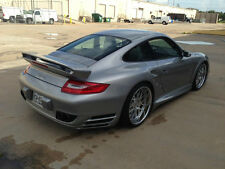 PORSCHE 997 TURBO GT TOP SPOILER REAR ADD ON WING TAIL KIT 997TT DIFFUSER