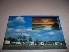 1980s GULF COAST CAMPING RV RESORT BONITA SPRINGS FLORIDA FL. VTG POSTCARD