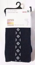 UNIQLO HEATTECH WOMEN KNITTED TIGHTS (SNOW) 1P NAVY (179931)