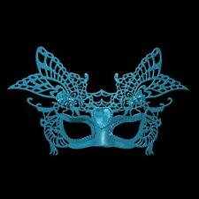 Christmas, New Year, Party Glitter Masquerade Mask with Gem - Choose Colour