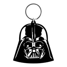Official Star Wars Darth Vader Helmet Rubber Keyring Keychain - Sith Lord Retro