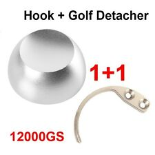 1Pc Golf Detacher 12000GS +1Pc Detacher Hook Key Tag Remover EAS System Security