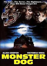 MONSTER DOG - ALICE COOPER   VICTORIA VERA 1985 HORROR DVD