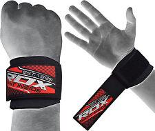 Auth RDX Handgelenkschutz Gym Griff Gewichtheben Gym Bodybuilding Handschuhe DE