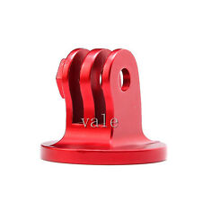 Aluminum Aloy Monopod Tripod Mount Adapter For Gopro Sjcam Camera Camcorder Red
