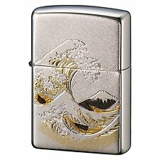 Zippo Japan Wave Mt.Fuji Electrocasting Japanese design collection New Japan F/S