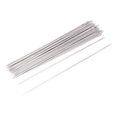 25 Pcs 1.6mm Dia Metal Quilting Tailor Sewing Needles 15cm Long AD