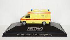 Herpa VW Miesen Rettungsmagazin Interschutz 2000 - 1:87 in PC und OVP