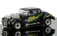 C3708 Scalextric Slot Car Quick Build Hot Rod Black Skull - New In Box UK