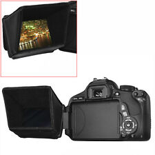 "Neewer 3"" LCD Screen Sun Collapsible Shield Hood for DSLR Cameras and Camcorders"