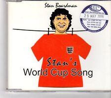 (FK614) Stan Boardman, Stan's Wolrd Cup Song - 2006 CD