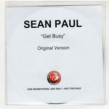 (FC625) Sean Paul, Get Busy - DJ CD