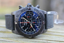 Breitling Chronomat 44 Blacksteel Military Rubber Strap MB0111