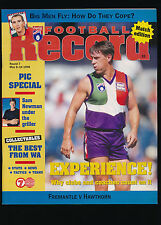 1998 AFL Football Record Fremantle vs Hawthorn Round 7 May 8 10 unmarked