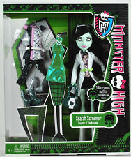 "MONSTER HIGH Collection_I Love Fashion Series_SCARAH SCREAMS 9"" Fashion Doll_MIP"