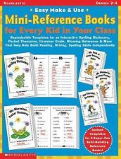 Easy Make & Use Mini-Reference Books for Every Kid in Your Class: Reproducible T