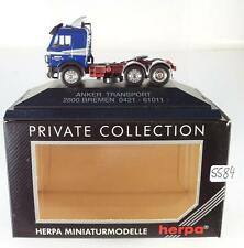 Herpa 1/87 PC Mercedes Benz Zugmaschine Anker Transport Bremen OVP #5584