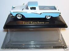 ROAD SIGNATURE FORD RANCHERO 1957 BLEU BLANC 1/43 in box