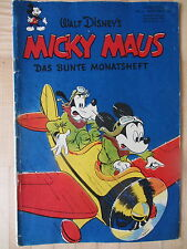 Micky Maus  1951  Heft  1  Orginal  Ehapa  Unrestauriert !