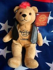 HRC Hard Rock Cafe Lisbon Lissabon Punk Bear Mohawk 2011 Red Hair Herrington