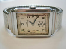 VINTAGE OLD -- TITUS GENEVE -- STAINLESS STEEL SWISS WRISTWATCH WATCH 1920-1930