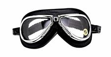 NEW CLIMAX 500 GOGGLES Classic VINTAGE Motorcycle Cafe Racer Rider FREE SHIPPING