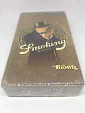 Smoking Brown Unbleached 1 1/4 Rolling Paper -12 Booklets