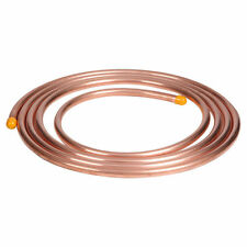 NEW 1m of 8mm copper, microbore, gas LPG plumbing pipe/tube water