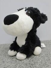 Dodger Perro Pastor Grande Headz perro co-op Corral Amigos Juguete Suave Blanco y Negro #50