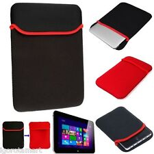 Black Red Neoprene Sleeve Bag Case Cover f0r Amazon Kindle Touch / Fire 7 Tablet