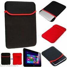 "New Black Red Universal Soft Shockproof Cover Smart  Case for 7.7"" Tab Netbook"