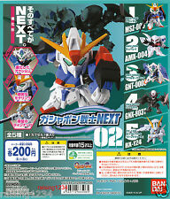 BANDAI SD Mobile Suit Gundam NEXT 2 Gashapon Figure (Set 5 pcs) Z Qubeley TR-6